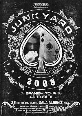 Junkyard en Gijon Posterjunkgijon