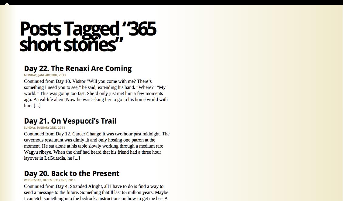 Make Something 365 Get Unstuck 365 Short Stories