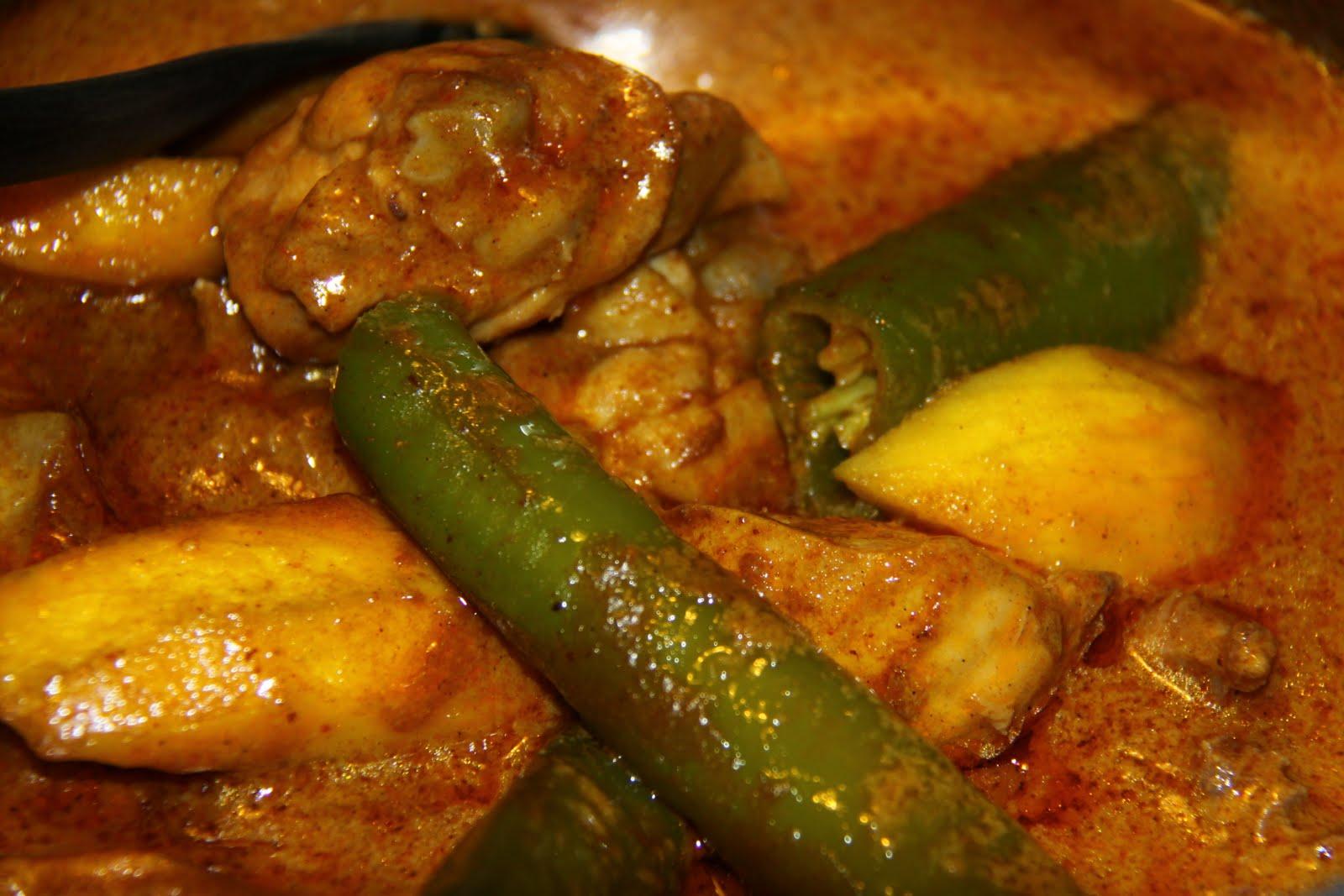 MY COOK BOOK: Gulai Darat Ayam Versi Kelantan