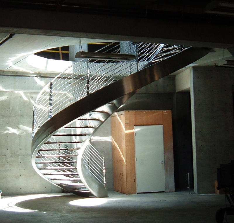 MetalGraphic: Stainless Steel ,Spiral Staircase
