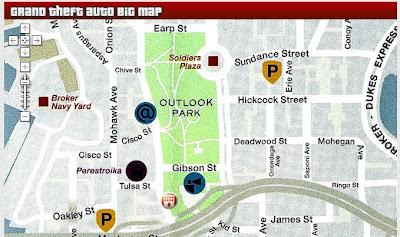 Maps Mania: GTA IV Liberty City Google Map