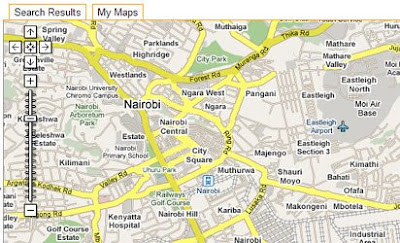 Maps Mania Google Maps in Kenya Get Road Maps