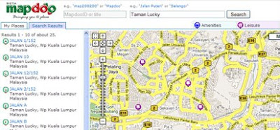 mapdoo map