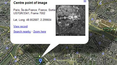 Maps Mania: WWII Aerial Photos on Google Maps