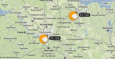 Map Of Germany Google.Maps Mania German Google Maps Mashup Round Up