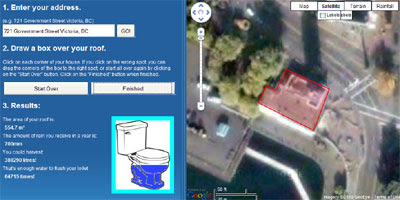 Maps Mania: Water Harvesting with Google Maps
