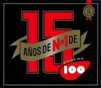caratula 15 Años De Números 1 En Cadena 100