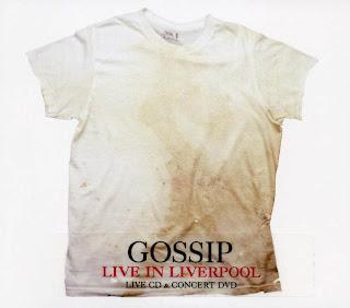 Gossip - Live in Liverpool | CARATULAS