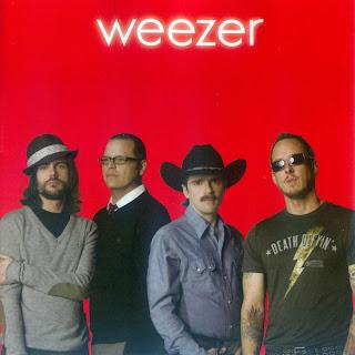 carátula frontal e ipod de Weezer (Red Album)