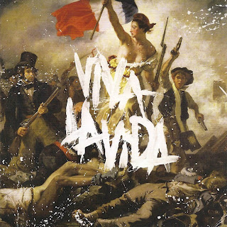 Coldplay Viva La Vida Or Death And All His Friends caratulas del nuevo disco, portada, arte de tapa, cd covers