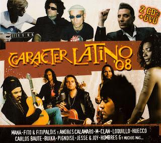 caratulas caracter latino 2008 ipod