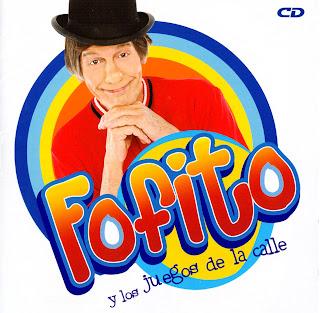 caratula frontal e ipod de Fofito Y Los Juegos De La Calle