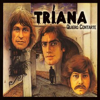 caratula portada disco Quiero Contarte de Triana