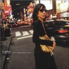 PJ Harvey - Stories From The City, Stories From The Sea (album cover)
