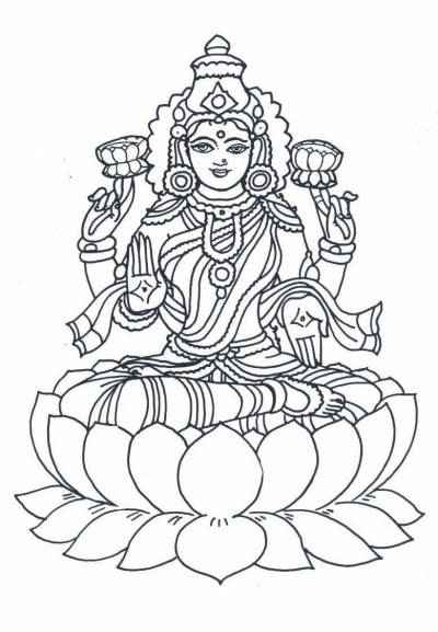 Diwali Coloring Pages: July 2010