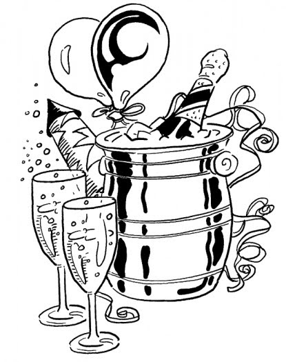 Free Happy New Year Coloring Pages, Download Free Clip Art, Free ...   525x415