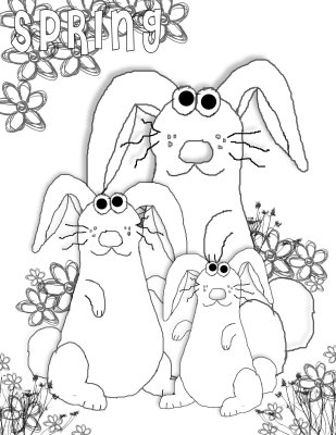 preschool coloring sheets blooming cherry tree coloring page