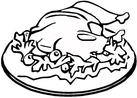 coloring pages of dishes - photo#14