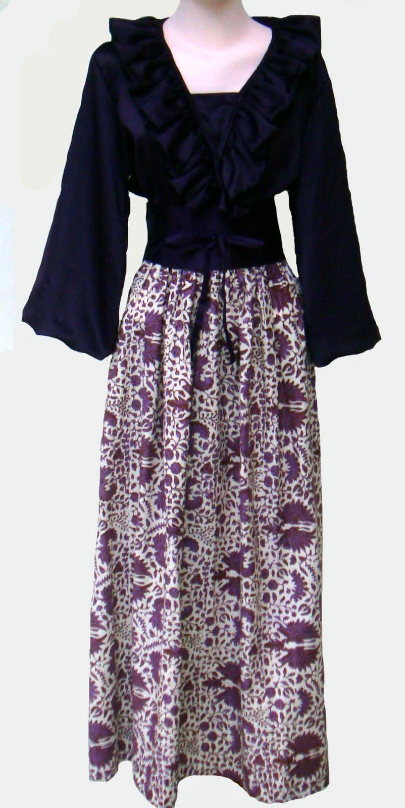 Busana Muslimah-Ku: Gamis Batik Modern