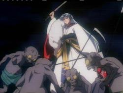 Sesshomaru Protecting Rin