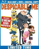 Despicable Me, blu ray, movie