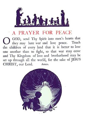 how to make something for peace pray