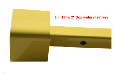 Picture of the 3 in 1 Pro water main key