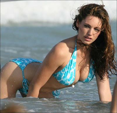 Bikini babe KELLY BROOK
