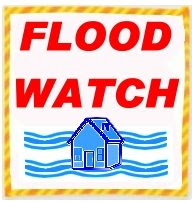FLOOD WATCH SIGN