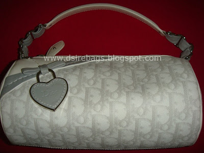 34f5606610 Dsire Bags  Christian Dior White Pouch Bag