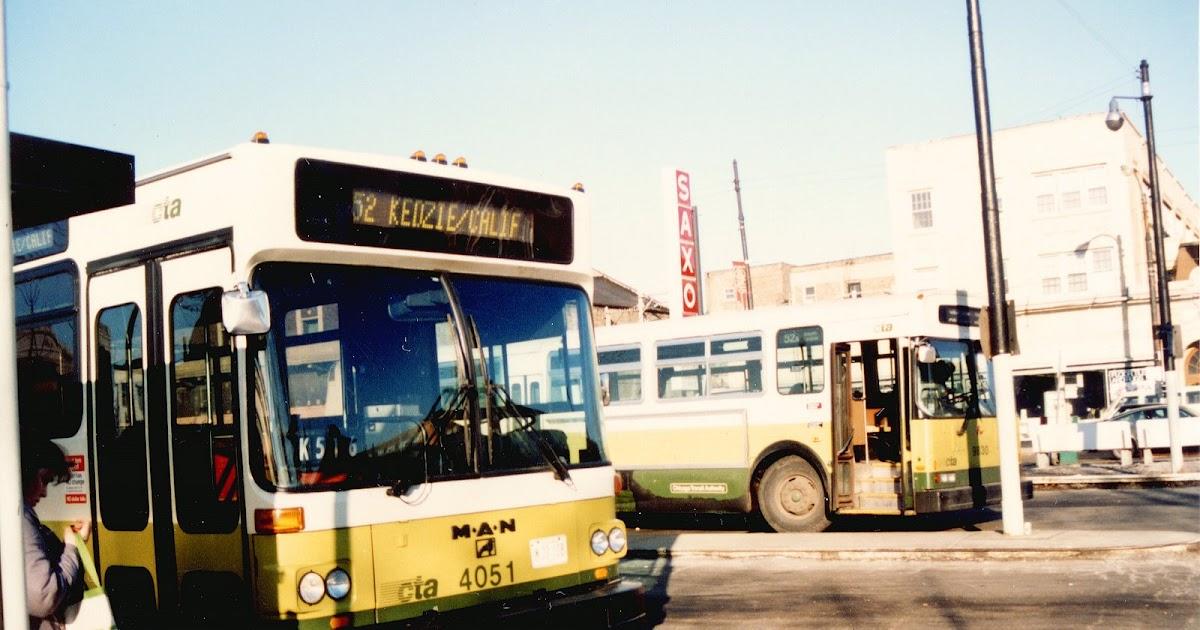 Eddie S Rail Fan Page The Cta Kedzie Avenue Bus Loop At