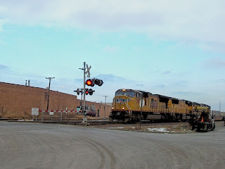 Eddie's Rail Fan Page: Westbound Union Pacific Railroad container
