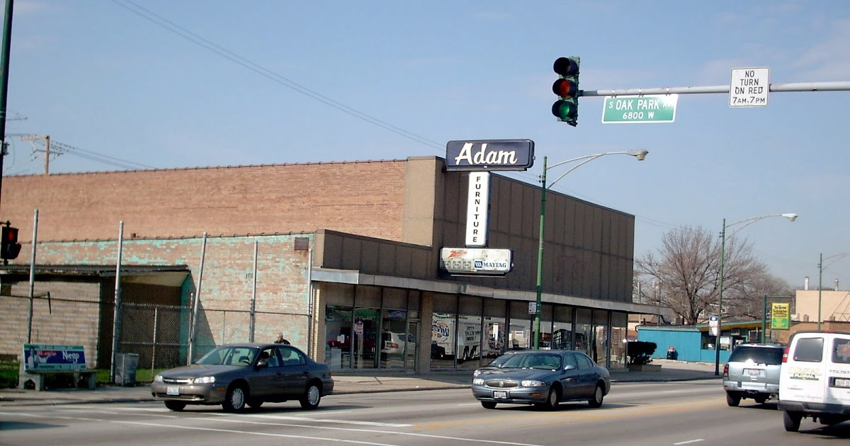 Eddie 39 S Rail Fan Page Chicago 39 S Adam Furniture Store 6815 South Archer Avenue Played An