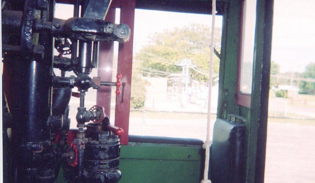 Eddie S Rail Fan Page Steam Locomotive Cab Interior