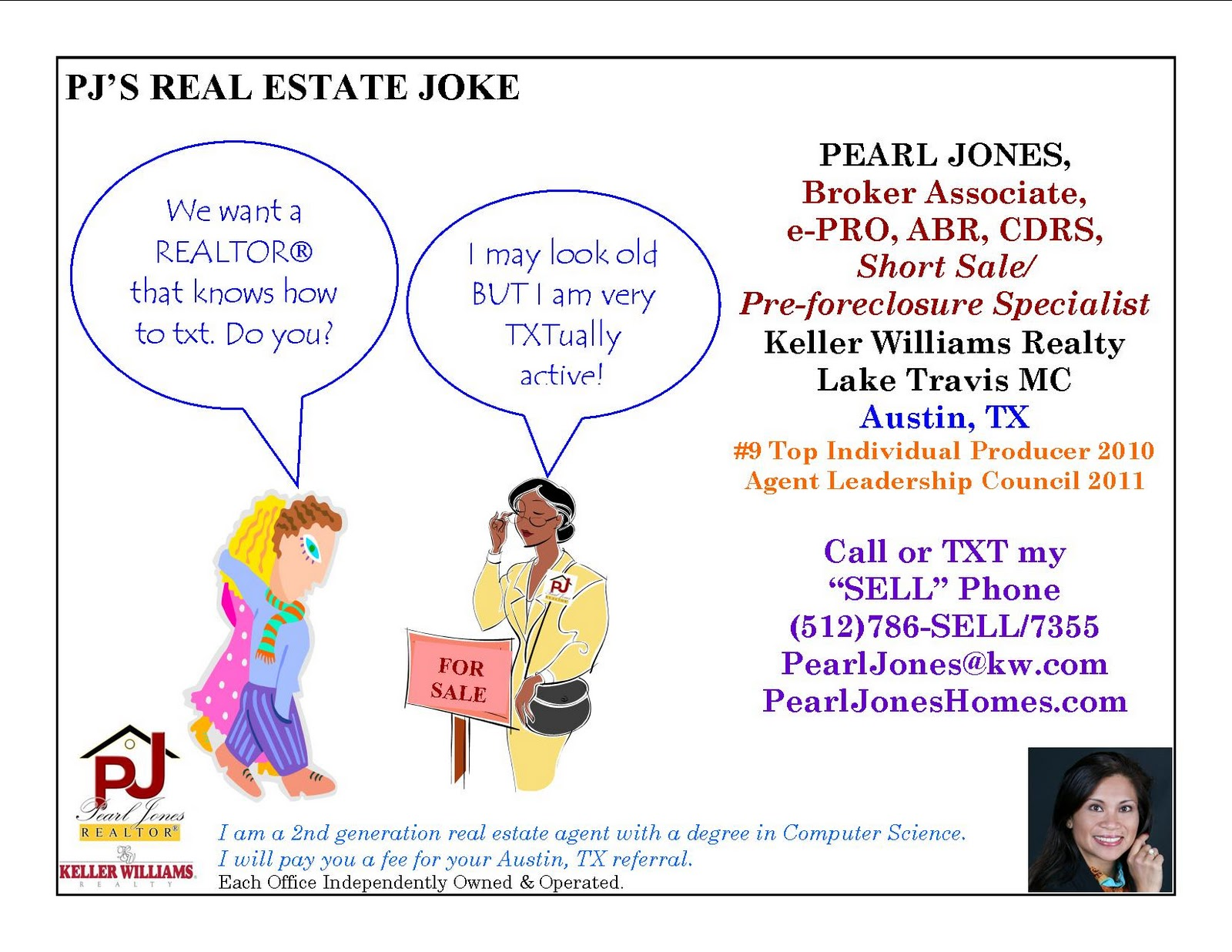 Austin Real Estate Blogs by Pearl Jones: PJ's ODD REAL ...