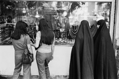 Photo Credit: http://www.pbs.org/wgbh/pages/frontline/tehranbureau/2010/07/your-veil-is-a-battleground.html