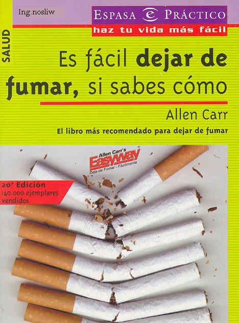 Dejar fumar para siempre los medios