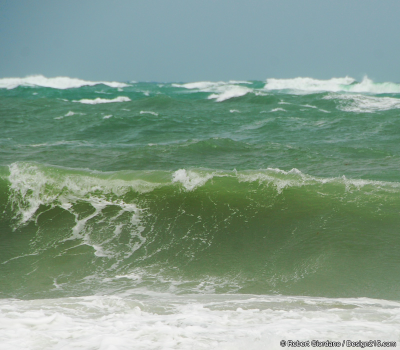 rough seas off fort lauderdale beach