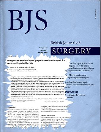 Картинки по запросу British Journal of Surgery Journal
