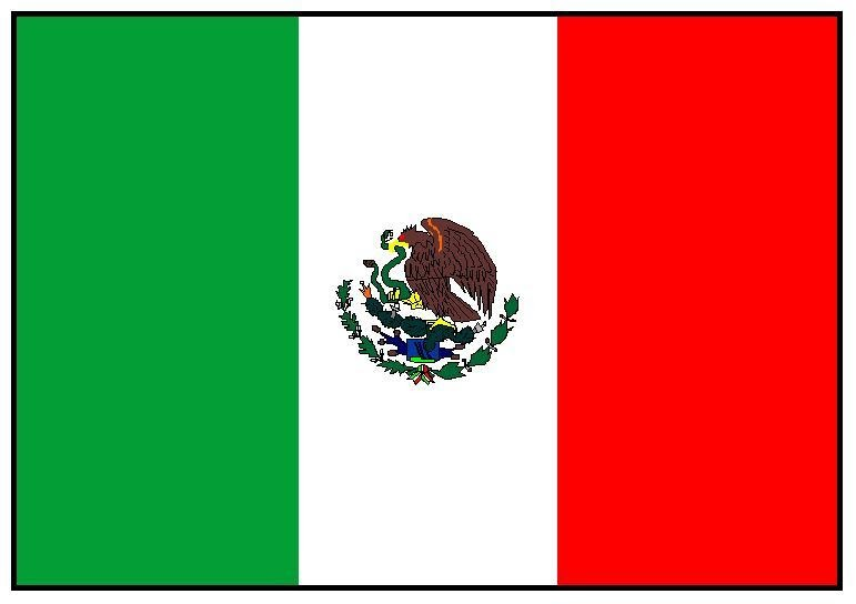 Eloquent image pertaining to printable mexican flag