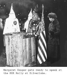 Margaret Sanger Speaks to the Ku Klux Klan