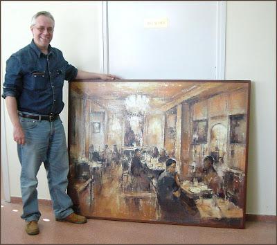 Ernest descals la historia del pintor primeros premios para ernest descals en torrelameu lleida - Pintores en lleida ...