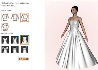 Noiva Eterna Simulador De Vestido