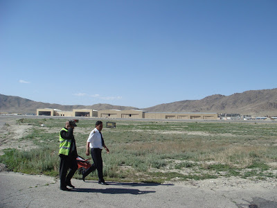 kabul airport pictures. view of the Kabul airport: