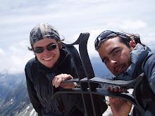 En la cima del Tuc de Mulleres (3010 m)...