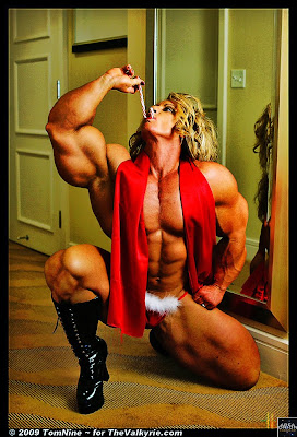 Dena Westerfield Holiday Muscle Morph