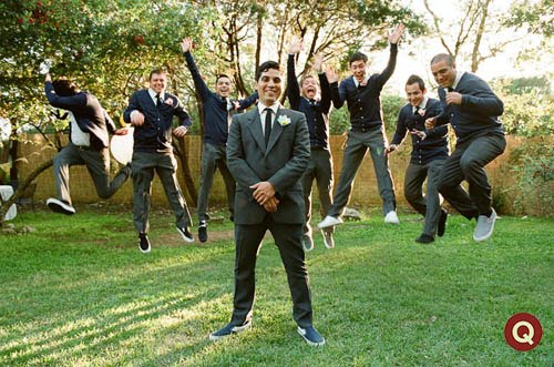 Outdoor Wedding Groomsmen Attire