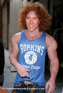 Nic Cage As Everyone Nic Cage As Carrot Top