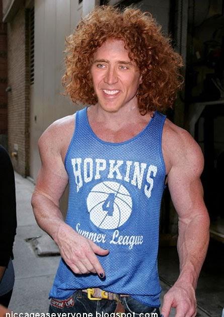 lax bro hair styles nic cage as everyone nic cage as carrot top 7766