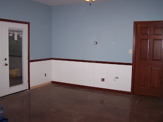 Far Side Of Master Bedroom French Doors Open To The Deck Left And Pocket Door On Right Goes Into Bathroom Whirlpool Is Behind That